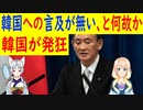 【韓国の反応】菅新首相の初の記者会見で韓日関係についての発言が無かったと韓国さんが激怒w【世界の〇〇にゅーす】