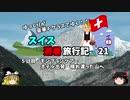【ゆっくり】スイス旅行記 21 モンブランへ スイスの高速道路事情