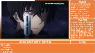 2020年秋アニメ紹介(1/2)