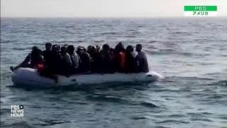 ドーバーを渡り今年移民が6千人英国に到達...反移民の右派国民が実力行使
