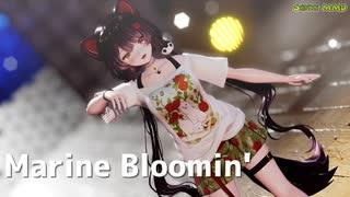 【にじさんじMMD】夏衣装の戌亥とこで「Marine Bloomin'」【バーチャルYouTuber】【1080p】