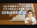 【日本はまだ軽症】コロナ情報をスペイン保健省グラフ統計から考察してみた件
