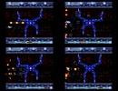 【4画面】SA-1グラディウスⅢ 難易度比較プレイ動画2【音量注意】
