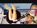 【MMD】戦うJS ~ しゆちゃんずのランドセルファイト【Ray-MMD1.52 ぱんつ注意】
