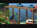 【実況】渡れたら、それは橋 Part28【Poly Bridge 2】