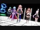 【アイドル部MMD】Conqueror【もこ田めめめ/ヤマトイオリ/花京院ちえり/神楽すず/カルロ・ピノ】