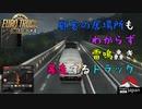 【Euro Truck Simulator 2】Part4 顧客の居場所もわからず雷鳴轟き暴走するトラック【ProjectJapan】