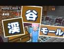 【マイクラJE #48】渓谷モール作ってみた【女性実況】