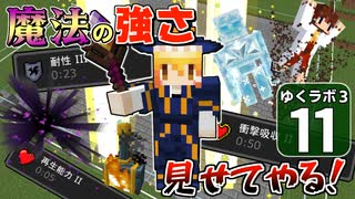 【Minecraft】ゆくラボ3~魔法世界でリケジョ無双~ Part.11【ゆっくり実況】