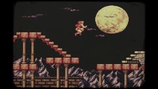 【悪魔城ドラキュラ(X68k版)】Moon Fight《100分間耐久》