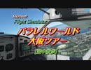 【MS Flight Sim.】パラレルワールド大阪ツアー【空中散歩】