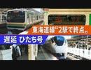 【特報】宇都宮線直通中止 上野東京ライン・東海道線ダイヤ乱れ@東京駅