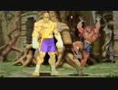 【格ゲーTAS】サガット vs アドン(Street Fighter Zero 3)【AI高画質/60 fps】