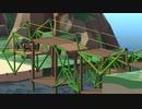 【実況】渡れたら、それは橋 Part30【Poly Bridge 2】