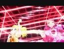 【MMD ヒーリングっど♥プリキュア】グレースとスパークルで『lucky train!』