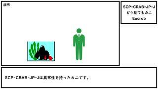 【ゆっくり紹介】SCP-CRAB-JP-J【どう見てもカニ】