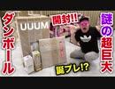 【開封】ana,UUUMから謎の超巨大ダン勃ールが届き大はしゃぎする31歳オナキン
