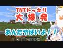 TNTドッキリ作戦で驚愕の大爆発【兎田ぺこら/マイクラ】