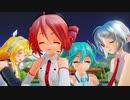 【テトの日2020】【カメラ自作】「I meets you!!」テト ミク ハク リン Ray-MMD 【MikuMikuDance】