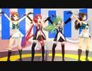 【MMD】【MMD艦これ】KIMONO♡PRINCESS  鳥海・摩耶・江風・山風