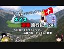 【ゆっくり】スイス旅行記 24 山麓の町 シャモニー散策
