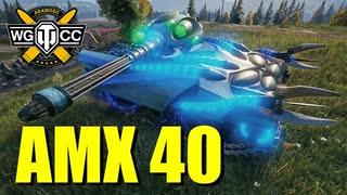 【WoT:AMX 40】ゆっくり実況でおくる戦車戦Part800 byアラモンド