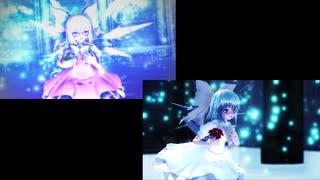【東方MMD】Ensei【2窓同時再生】(エレクトリカ式チルノ)