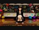 【MMD】文・妖夢のしゃがみパンチラ観察 セーラー服 カーディガン制服【Ray-MMD1.52】