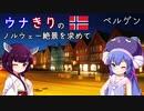 ウナきりの絶景を求めて ノルウェー 6 -Night Bergen