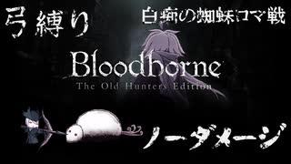 【Bloodborne】弓縛り カンストノーダメージ 8白痴の蜘蛛ロマ戦