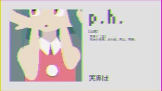 【MMDオリキャラ】ドット絵風「p.h.」【PVキット配布有り】