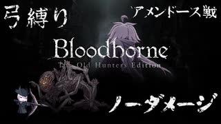 【Bloodborne】弓縛り カンストノーダメージ 9アメンドーズ戦