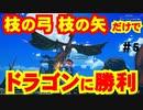 【クラフトピア】初期装備でドラゴン攻略!!枝の弓、枝の矢だけでドラゴンを倒してみた!!【Craftopia】