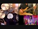 ORESAMA「Gimmme!」(魔王城でおやすみED)ドラム叩いてみた&ベース弾いてみた【コラボ】/ ORESAMA Gimmme! Drums & Bass cover collaboration