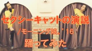 【1人2役】セクシーキャットの演説/モーニング娘。'16踊ってみた【ハロウィン】