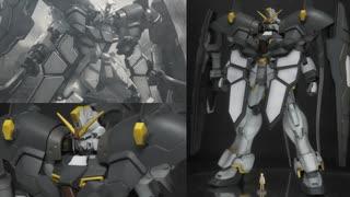 【ガンプラレビュー】MGガンダムサンドロックEW(アーマディロ装備):塗装仕上げ