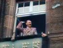 【カラー化しました】ヒトラー総統を熱狂的に歓迎するドイツ国民(映画『意志の勝利』より)