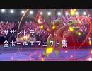 【ポケモン剣盾】サザンドラの全ボールエフェクト (+おまけ)