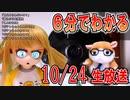 【ロボ娘開発】6分でわかる10/24生放送【忙しい人向け】