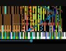 """Night Of Knights"" of black MIDI 48006notes"
