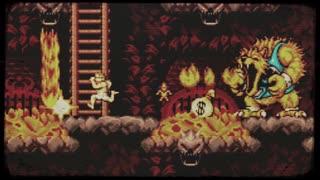 【超魔界村】Level3(3面:溶鉱炉/溶鉱の塔)《100分間耐久》