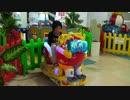 【KID'S US LAND】ロボット、ワンちゃんの乗り物に乗るあい❤思ったよりも動きが激しい⁉www