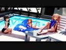 【MMD艦これ】白露姉妹で「Breakthrough」【競泳Ver】