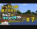 【Minecraft 1.16】たんこのマイクラ #7【いっきに3軒 建ててみた!】