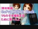 [開封動画]GoPro HERO9 Black うちの子を撮影するために買ったよ