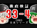 あれから15年……徹底検証「33-4」ロッテ対阪神 日本シリーズ2005 【ゆっくり解説】