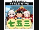 天気予報Topicsまとめ2020/11/11~2020/11/17