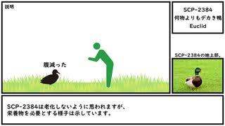 【ゆっくり紹介】SCP-2384【何物よりもデカき鴨】