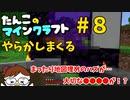 【Minecraft 1.16】たんこのマイクラ #8【やらかしまくる】