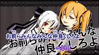 【ニコカラ】お前らなんかみんな大嫌いだ(キー-4)【off vocal】